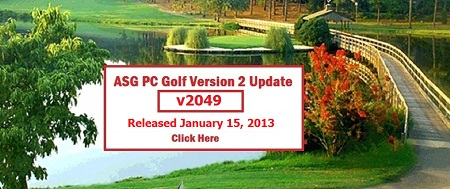 ASG Golf Version 2049 Update